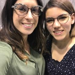 The Eyewear Girl and Serena from Rye & Lye