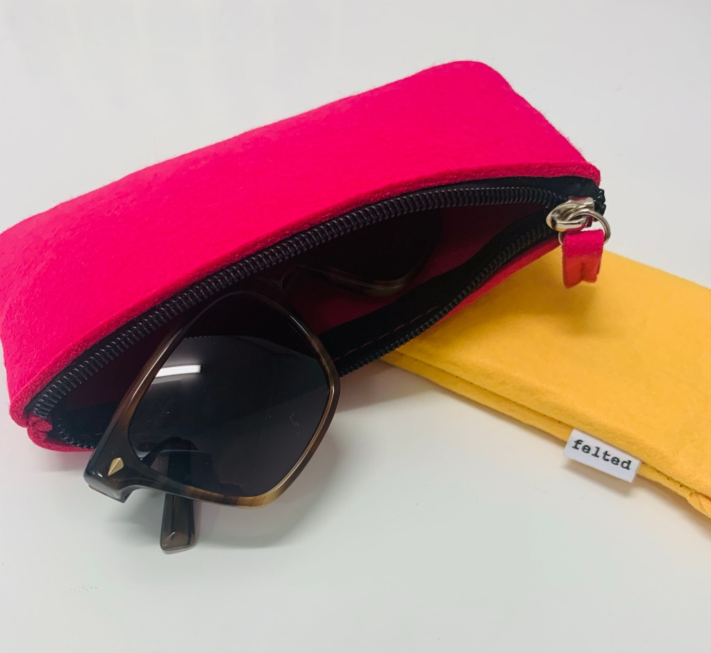 Cases with zips to protect your eyewear