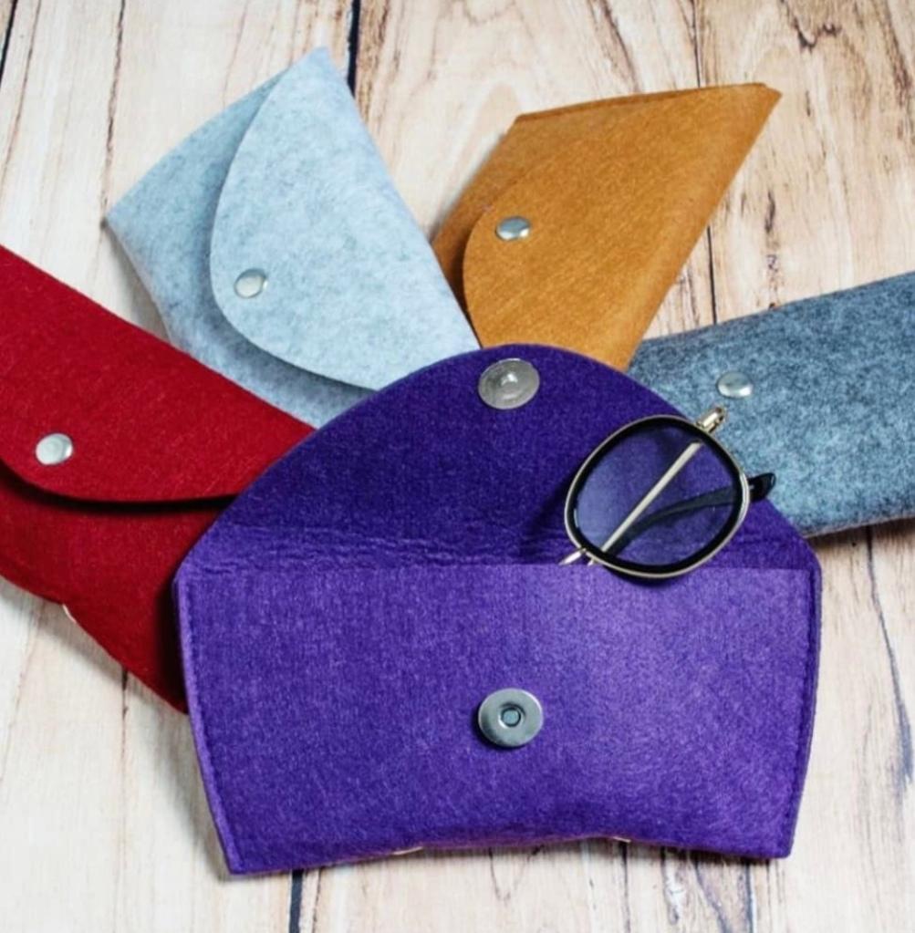 A range of large sized eyewear  cases